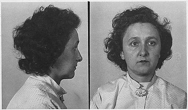 Ethel Rosenberg mugshot
